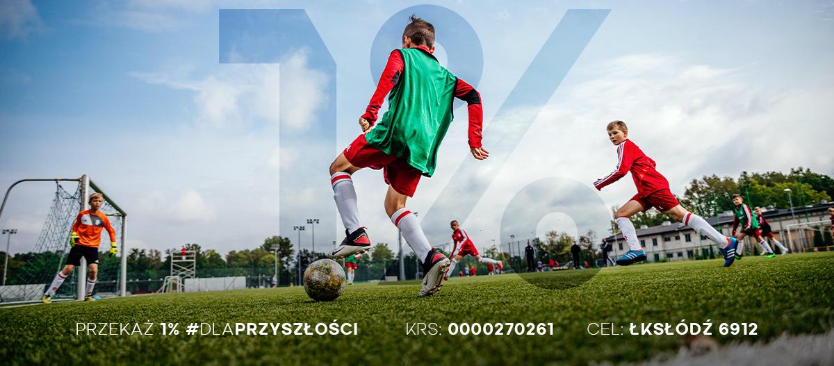 przekaz 1 podatku akademii lks lodz 1 - Podsumowanie weekendu Akademii ŁKS (27-28.02)