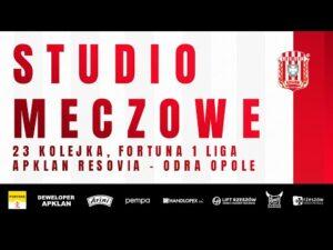 STUDIO MECZOWE 🎥⚪🔴 Apklan Resovia – Odra Opole