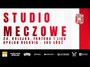 Read more about the article STUDIO MECZOWE 🎥⚪🔴 Apklan Resovia – ŁKS Łódź