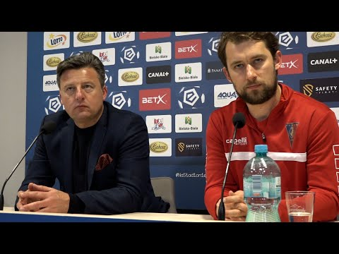 Kosta Runjaic i Robert Kasperczyk na konferencji po #PODPOG
