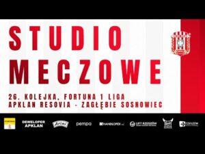 Read more about the article STUDIO MECZOWE 🎥⚪🔴 Apklan Resovia – Zagłębie Sosnowiec