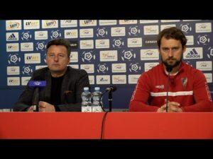 Kosta Runjaic i Włodzimierz Gąsior na konferencji po #STMPOG