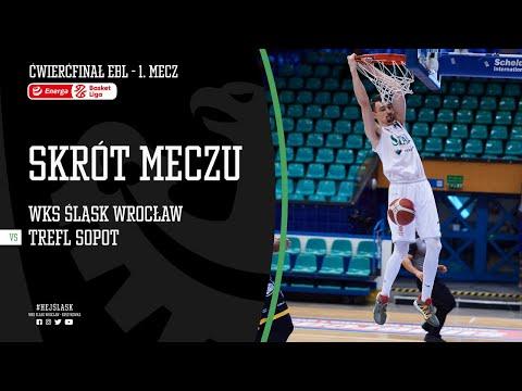 #ĆPO1 SKRÓT: WKS Śląsk Wrocław – Trefl Sopot 76:71