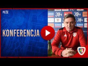 Read more about the article KONFERENCJA | Waldemar Fornalik przed meczem z Podbeskidziem 30|04|2021
