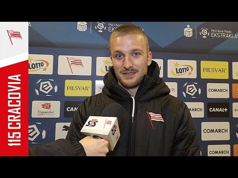 Michal Siplak po meczu z Lechem Poznań (03.04.2021)