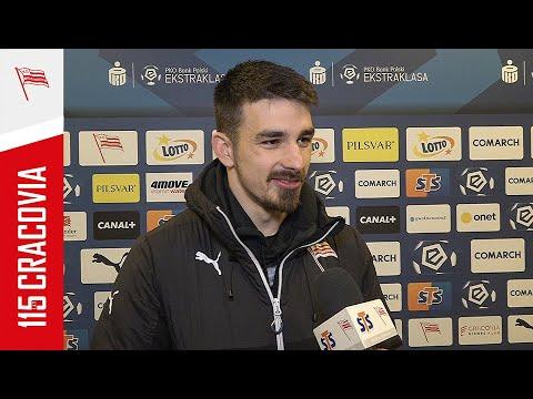 Sergiu Hanca po meczu z Lechem Poznań (03.04.2021) [NAPISY PL]