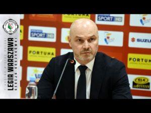 P(L)AY🏀FF 2021   Konferencja prasowa po II meczu play-off Legia – King   Legia Warszawa Koszykówka
