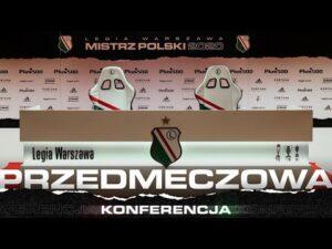 Read more about the article Konferencja przed meczem Legia Warszawa – Pogoń Szczecin
