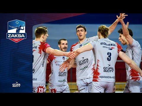 Pierwsza batalia z PGE Skrą wygrana | Aleksander Śliwka, Benjamin Toniutti