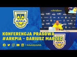 Read more about the article DARIUSZ MARZEC PRZED MECZEM #ARKPIA