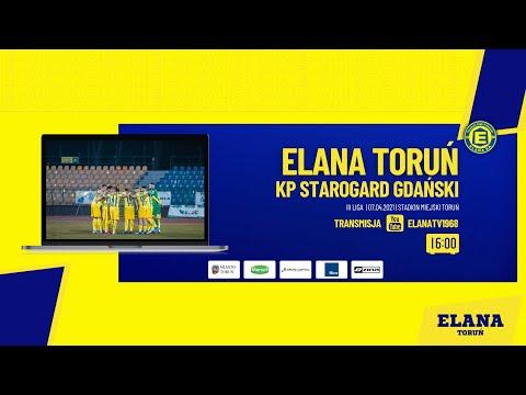 ELANA TORUŃ – KP STAROGARD GDAŃSKI | LIVE | środa 07.04.2021 | godzina 16:00