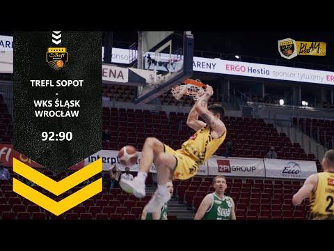 Gramy dalej! Trefl Sopot – WKS Śląsk Wrocław 92:90 pd. | Trefl Sopot