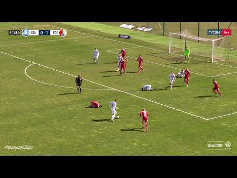 Stal Rzeszów – Pogoń Siedlce 1-5 (skrót meczu)