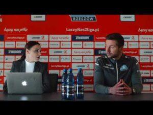 Read more about the article Konferencja po meczu Stal Rzeszów – Pogoń Siedlce