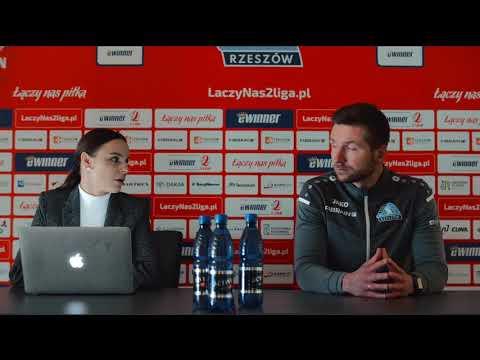 Konferencja po meczu Stal Rzeszów – Pogoń Siedlce