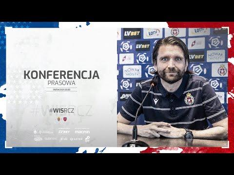 Konferencja prasowa przed meczem Wisła – Raków (08.04.2021)
