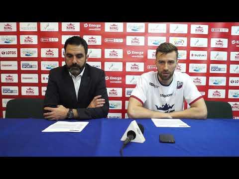 Konferencja prasowa po ostatnim meczu King – Legia 72:79
