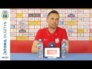 Konferencja przed meczem z GKS-em Bełchatów (9.04.2021 r.)