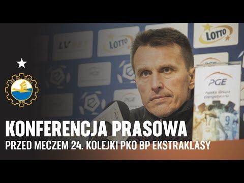 TV Stal: Konferencja prasowa przed meczem 24. kolejki PKO BP Ekstraklasy