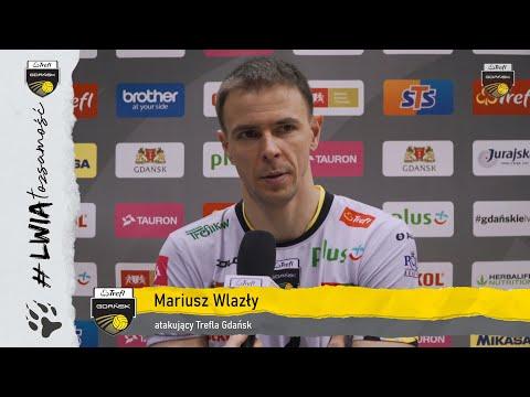 Fabian Drzyzga oraz Mariusz Wlazły po meczu z Asseco Resovią Rzeszów | Trefl Gdańsk