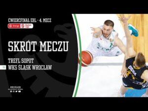 #ĆPO4 SKRÓT: Trefl Sopot – WKS Śląsk Wrocław 81:83