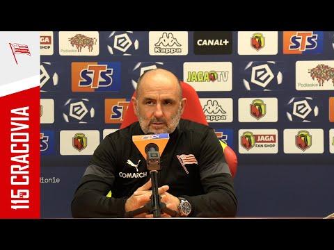 Trener Michał Probierz po meczu z Jagiellonią Białystok (09.04.2021)