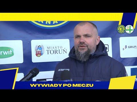 Trener Maciej Kalkowski po meczu z KP Starogard Gdański