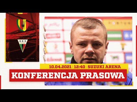 Konferencja prasowa po meczu Korona Kielce – GKS Tychy