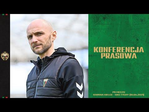 24. kolejka Fortuna1Liga: Konferencja prasowa po meczu Korona Kielce – GKS Tychy 1:0