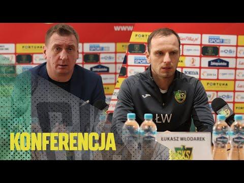 [GKS TV] Konferencja prasowa po meczu z Górnikiem Łęczna