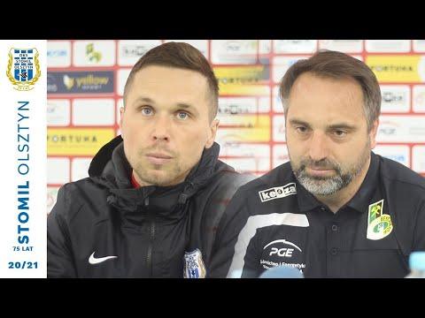 Konferencja po meczu GKS Bełchatów – Stomil Olszyn 2:3 (10.04.2021 r.)