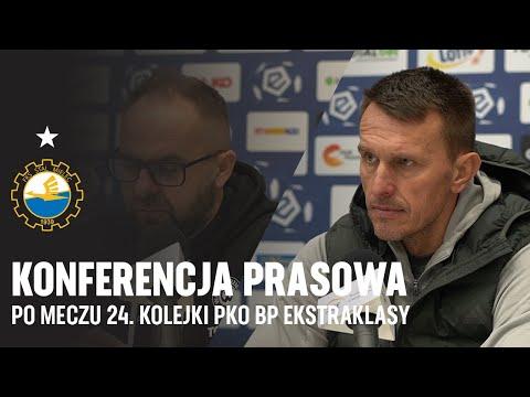 TV Stal: Konferencja prasowa po meczu 24. kolejki PKO BP Ekstraklasy