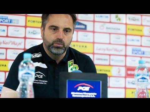 Konferencja prasowa po meczu GKS Bełchatów – Stomil Olsztyn 2:3