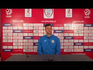 Read more about the article Karol Noiszewski bezpośrednio po meczy ze Stalą Rzeszów | 10.04.2021