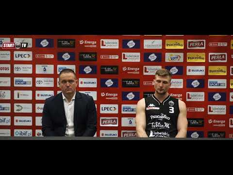 Konferencja po meczu Pszczółka Start Lublin – Arged BMSlam Stal Ostrów Wlkp. | 8.04.2021 | EBL