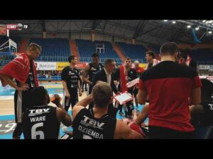 Skrót meczu Pszczółka Start Lublin – Arged BMSlam Stal Ostrów Wlkp.   8.04.2021   Energa Basket Liga