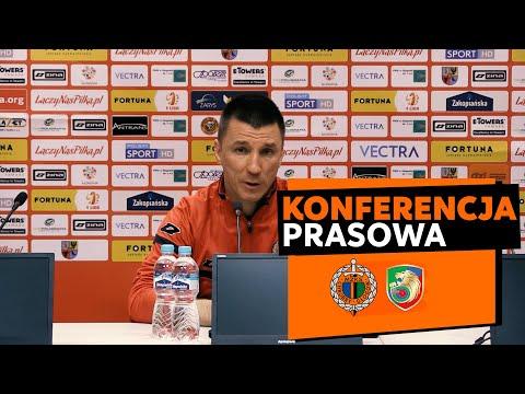 Konferencja prasowa po meczu Chrobry Głogów – Miedź Legnica