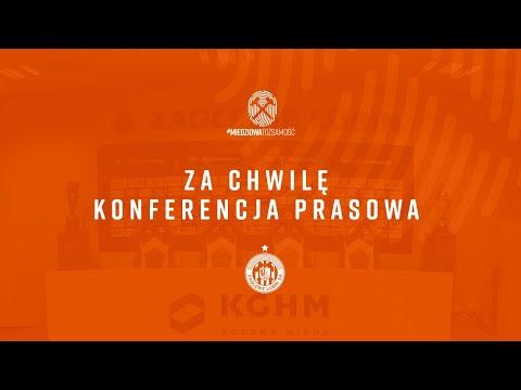 Konferencja prasowa po meczu KGHM Zagłębie Lubin – Podbeskidzie Bielsko-Biała | LIVE