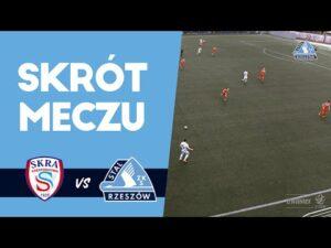 Skra Częstochowa – Stal Rzeszów 3-4 (skrót meczu)