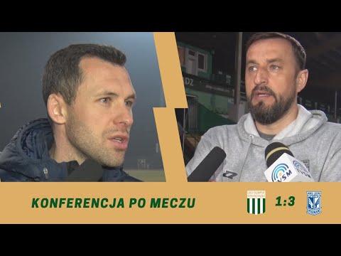 Konferencja po meczu 26. kolejki eWinner 2. Ligi: Olimpia Grudziądz – Lech II Poznań.