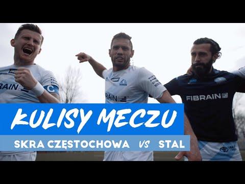 Kulisy meczu Skra Częstochowa – Stal Rzeszów (10.04.2021)