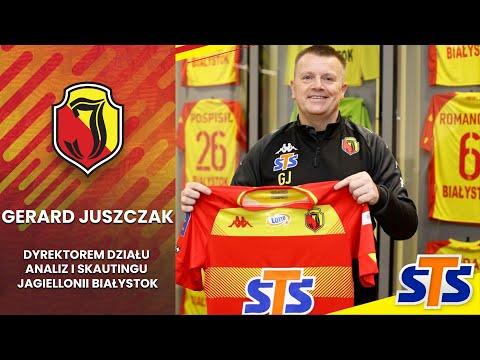 Gerard Juszczak Dyrektorem Działu Analiz i Skautingu Jagiellonii Białystok