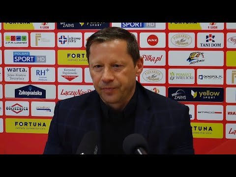 Konferencja prasowa po meczu Puszcza Niepołomice – Radomiak Radom 0:4 [RADOMIAK.TV]