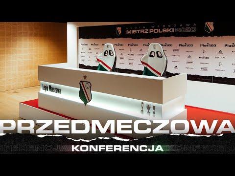 Konferencja przed meczem Legia Warszawa – Cracovia