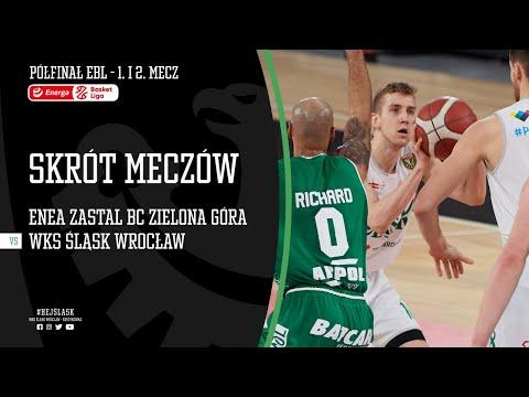 #BAŃKA1 SKRÓT: Enea Zastal BC Zielona Góra – WKS Śląsk Wrocław 97:90 i 87:76