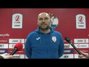 Read more about the article Trener Skry Częstochowa bezpośrednio po meczu w Ostródzie | 14.04.2021