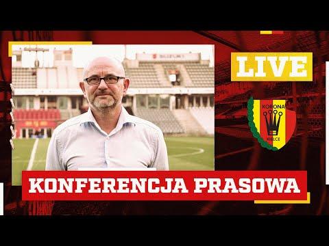 Konferencja prasowa z trenerem Dominikiem Nowakiem