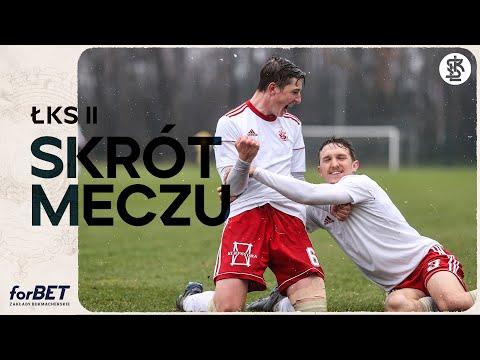 RPP: ŁKS II Łódź – Lechia Tomaszów Mazowiecki 2:1 | SKRÓT MECZU