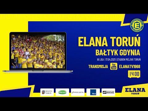 ELANA TORUŃ – BAŁTYK GDYNIA | LIVE | sobota 17.04.2021 | godzina 14:00
