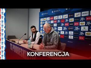 Read more about the article Konferencja prasowa po meczu Podbeskidzie – Pogoń   16.04.21